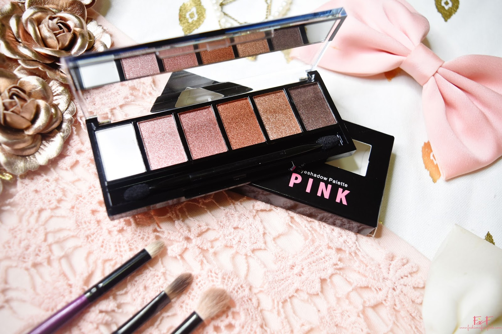 Ever Bilena Eyeshadow Palette in Pink | Review & Swatches