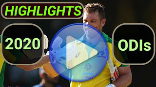 2020 odi cricket matches highlights online