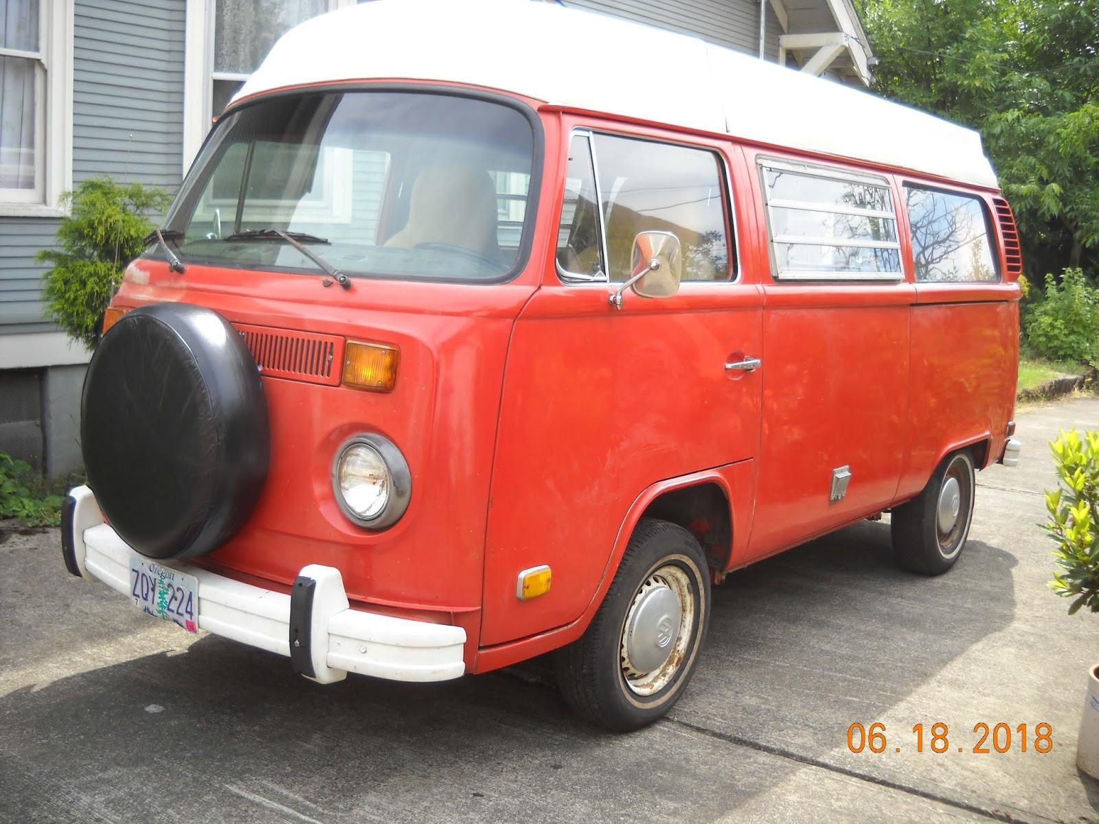 1973 VW Camper For Sale