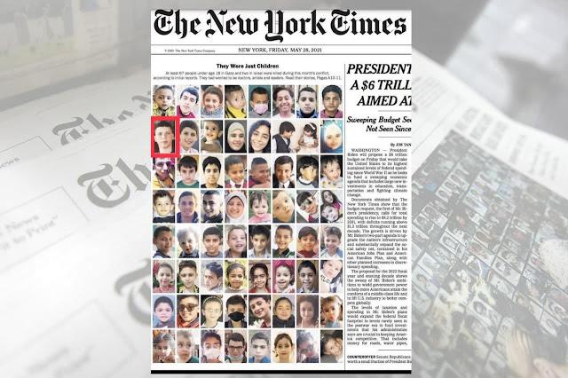 ניו-יארק טיימס לייגט טעראריסט צווישן ציווילע אומגעקומענע