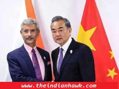S Jaishankar and his Chinese counterpart Wang Yi