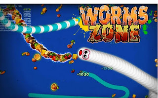 game android kekinian Worms Zone