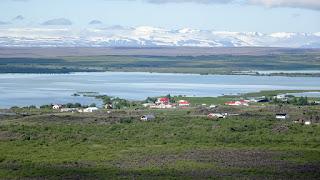Small village Reykjahlíð