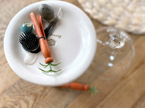 Vintage Clothespin Carrots for Spring