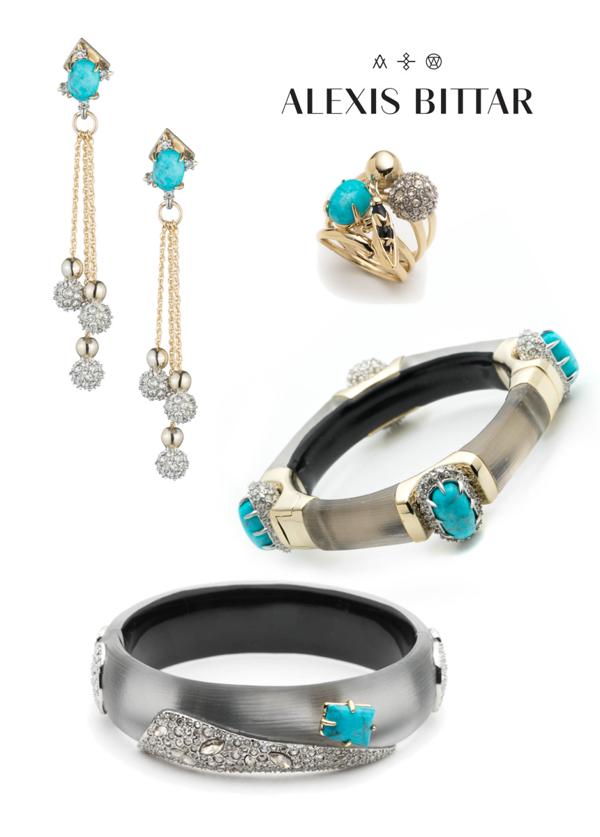ALEXIS BITTAR ASSORTED JEWELRY (sold separately)