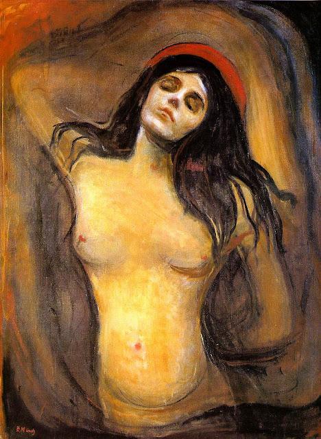 Эдвард Мунк - Мадонна. 1894