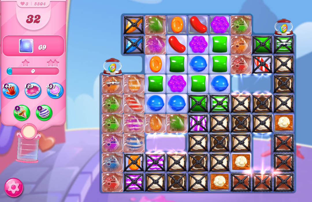 Candy Crush Saga level 5804
