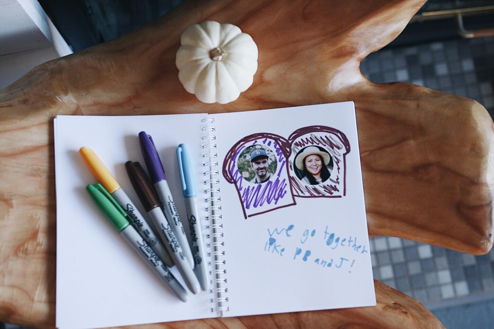 Pinhole Press Family Faces Sticker Book