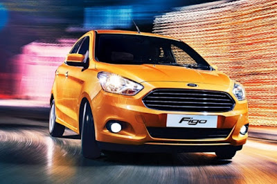 New Ford Figo 2016 Hatchback on the road