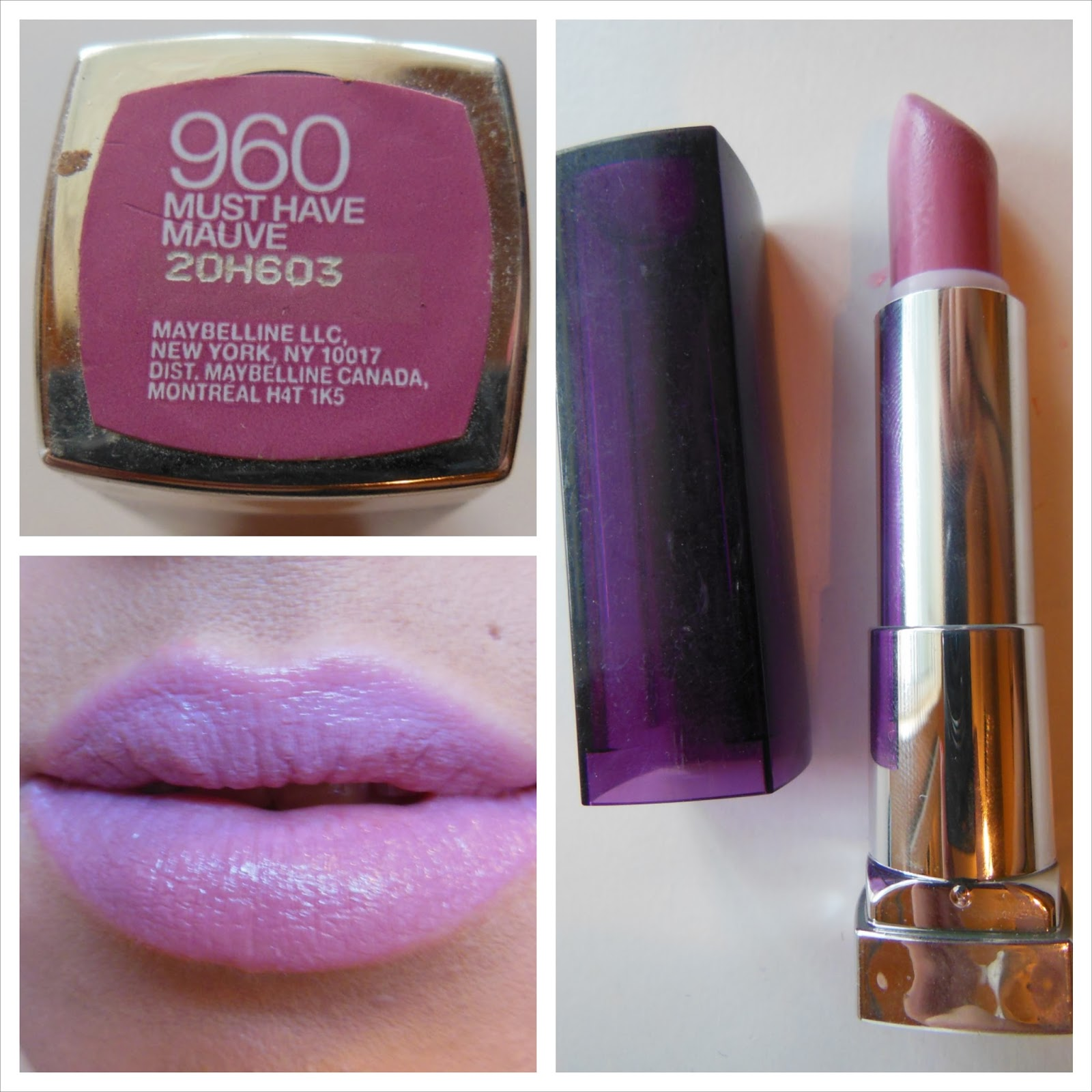 Maybelline Light Purple Lipstick | The Art Of Beauty