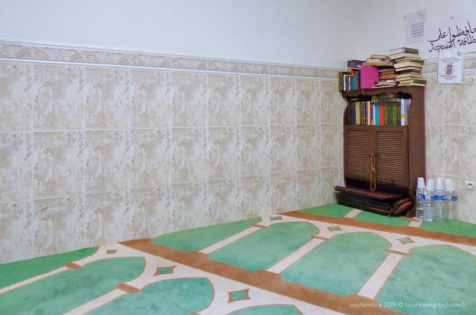 Mosquée Assalam Tourcoing - Salle de prière pour les femmes