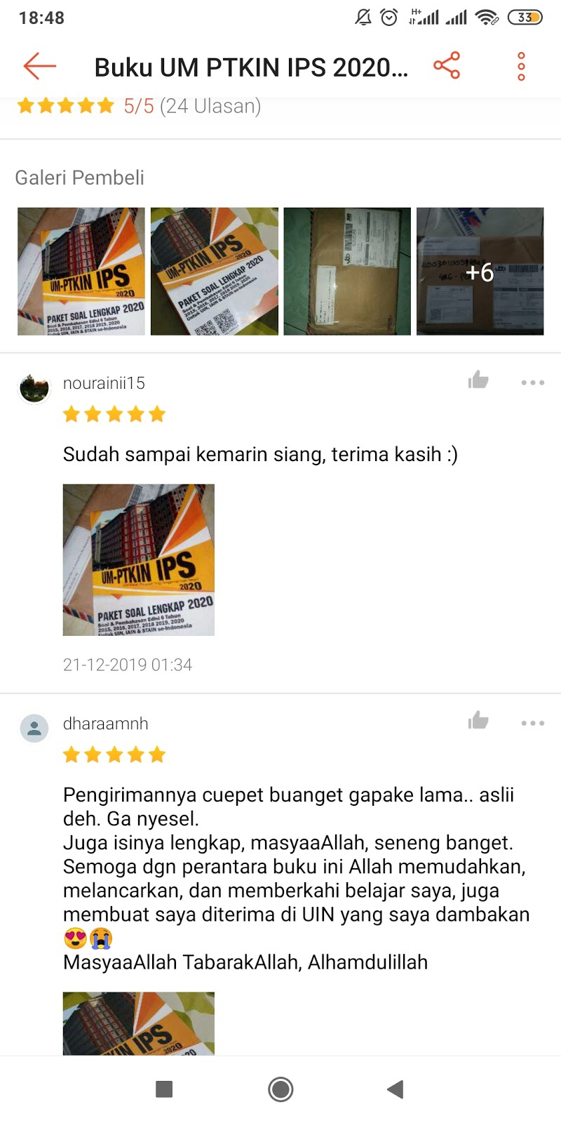Review Buku UMPTKIN