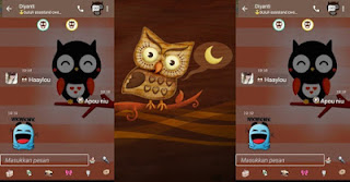 Download BBM MOD Smooth Owl V3.0.0.18 Apk