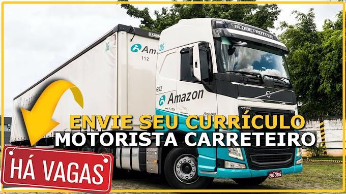Transportadora Amazon abre vagas para Motorista Carreteiro