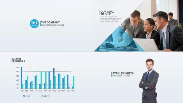 the company - corporate video package 14461038 - free after, Powerpoint templates