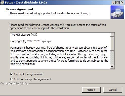 Hướng dẫn cài đặt CrystalDiskInfo 8.9.0a cho máy tính win 7/8/10/XP a