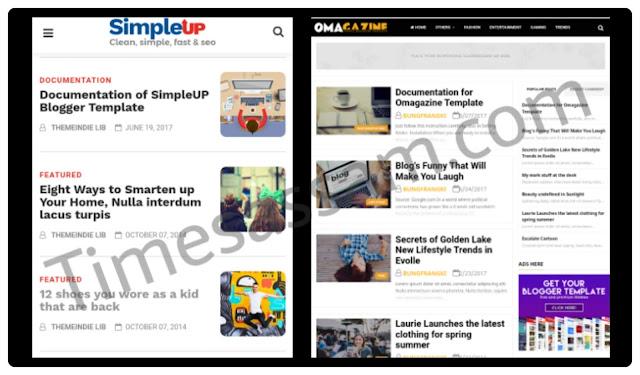 Primium free blogger templates