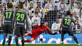 Real Madrid menelan kekalahan dari Real Sociedad. - Foto/REUTERS