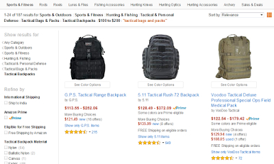 Tactical Bags and Packs.