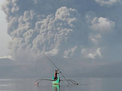 Effetti di una Eruzione di Vulcano sul Riscaldamento Globale