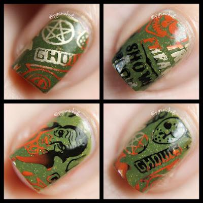 Powder Perfect Halloween Stamping