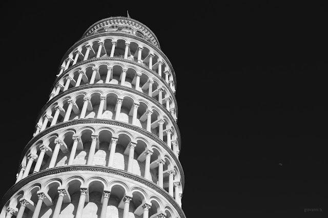 Fotografia della torre di Pisa