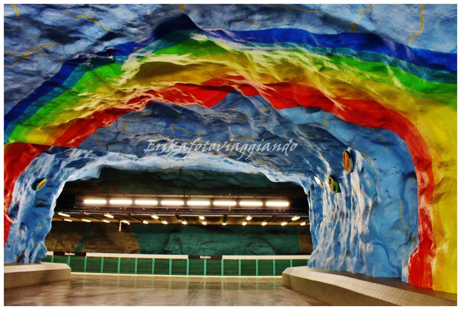Erikafotoviaggiando: Stazioni metro artistiche a Stoccolma ...