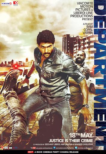 Department (2012) Full Movie Hindi 400MB HDRip 480p ESubs Free Download