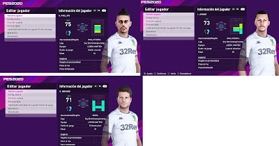 PES 2020 Leeds United Facepack 2 by Juanchi25