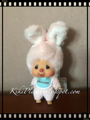 La Monchhichi Chimutan Bunny Big head Mascot  Référence 250752 kiki