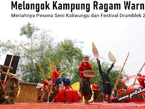 Melongok Kampung Ragam Warna, Meriahnya Pesona Seni Kaliwungu dan Festival Drumblek 2019