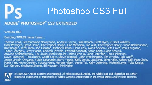 Download Photoshop CS3 Full (64bit) Link Google Drive Mới Nhất 2021 a