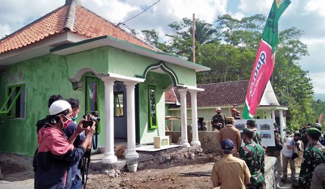 Musalah di lokasi TMMD Desa Pandansari Kecamatan Senduro