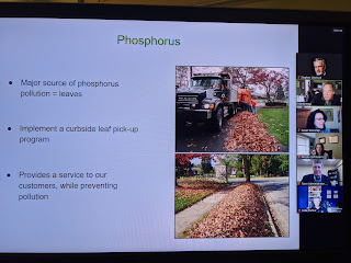 leaf pick up added as a service as part of storm water utility fee