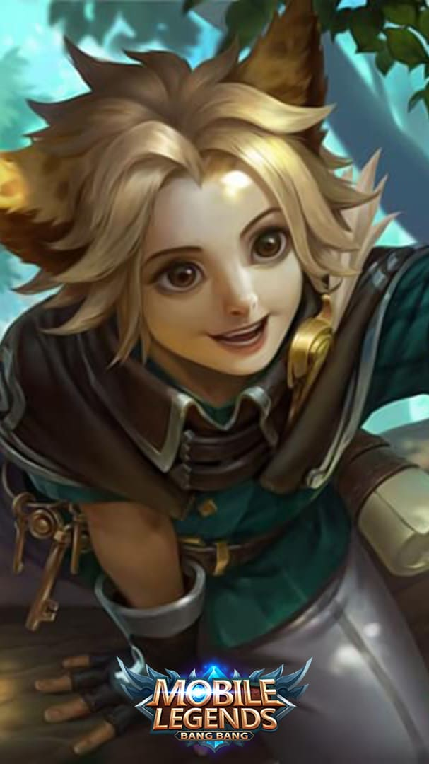 Wallpaper Harith Savannah Cat Skin Mobile Legends HD for Android and iOS