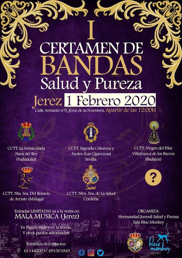 I Certamen de Bandas Hermandad Juvenil Santísimo Cristo de la Salud y Pureza de Jerez de la Frontera