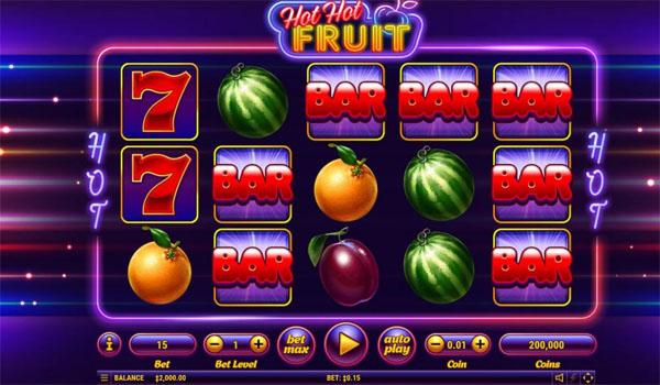Main Gratis Slot Indonesia - Hot Hot Fruit Habanero