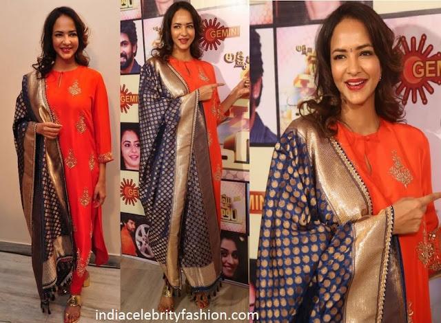 Lakshmi Manchu in Jayanti Reddy Salwar Suit