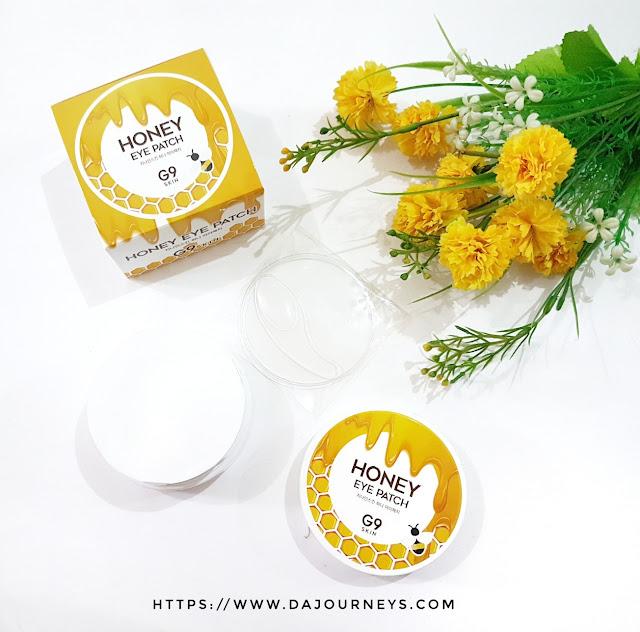 Review G9 Skin Honey Eye Patch