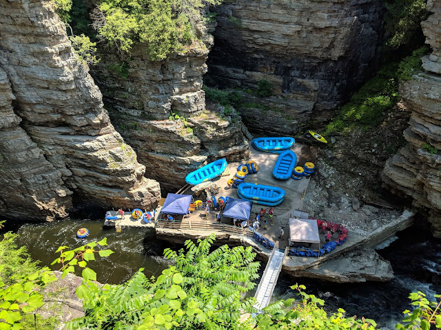 Katie Wanders : Visiting Ausable Chasm, New York