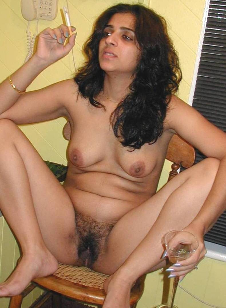 Indian Girl Shaving