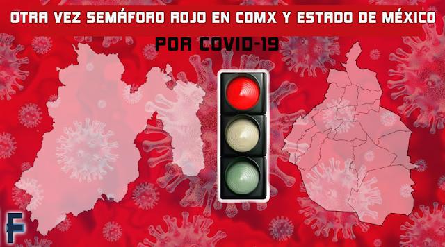 Semáforo rojo en CDMX y Edomex: Checa que actividades esenciales quedarán permitidas