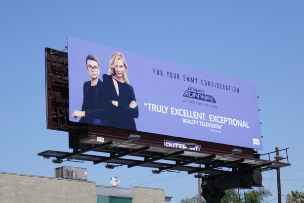 Project Runway Bravo season 17 Emmy FYC billboard