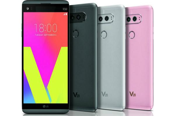 إل جي تكشف رسميا عن هاتفها الذكي الجديد LG V20