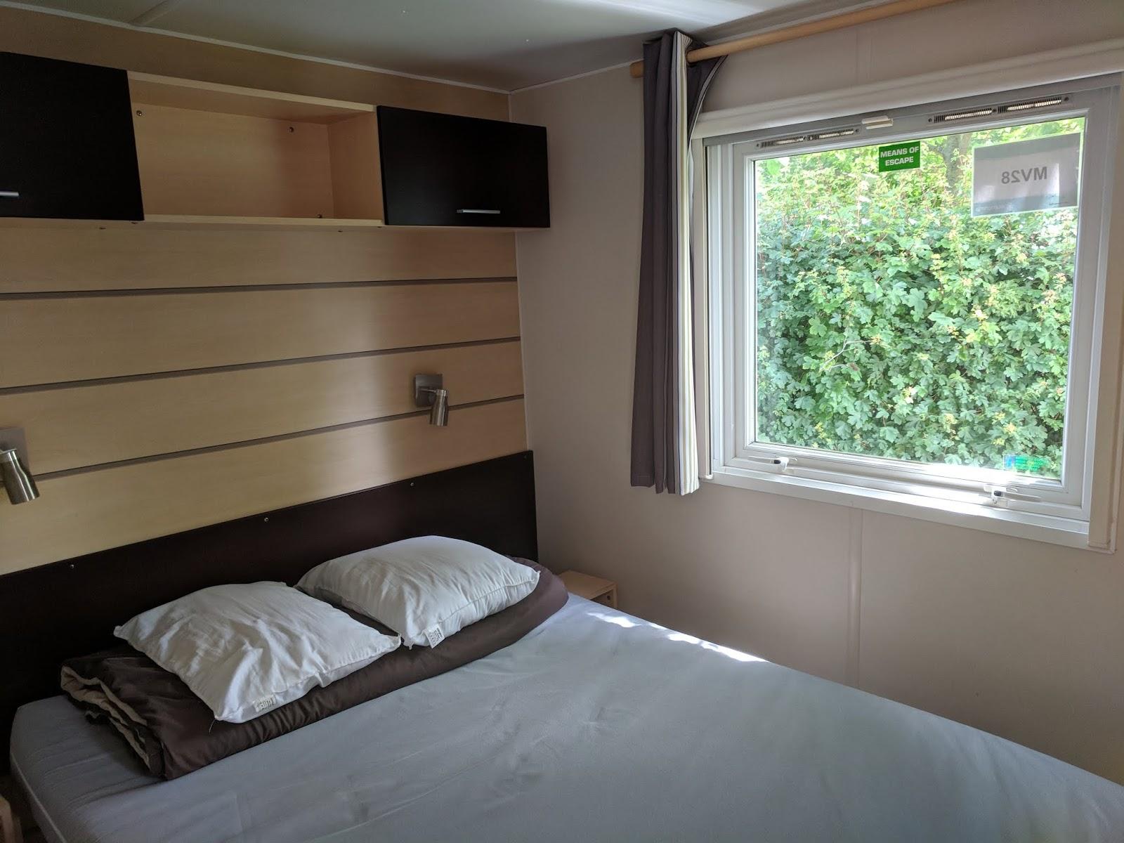 Eurocamp Esprit Double Bedroom