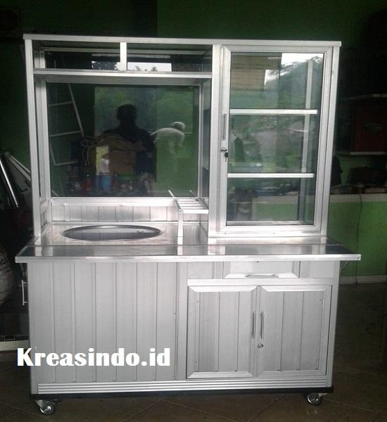 Jasa Pembuatan Gerobak Bakso Aluminium Terbaik di Jabodetabek Sejak 2009