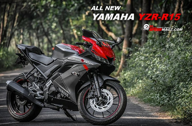 Spesifikasi  All New Yamaha R15  2019