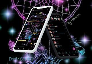 Black Fitrodos Theme For YOWhatsApp & Fouad WhatsApp By Driih Santos