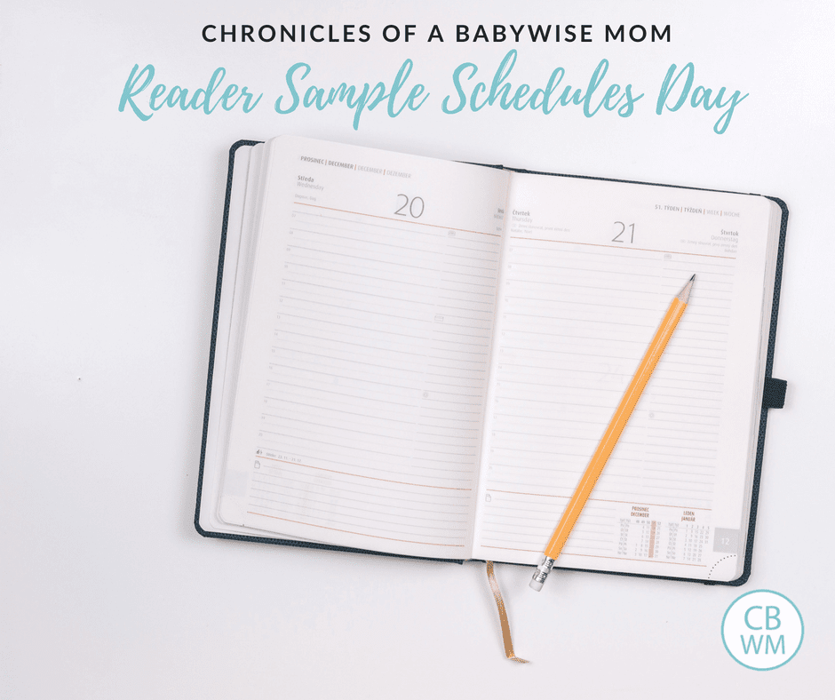 Reader Sample Schedules Day 2018. Share your child's sample schedule so you can help other parents out.