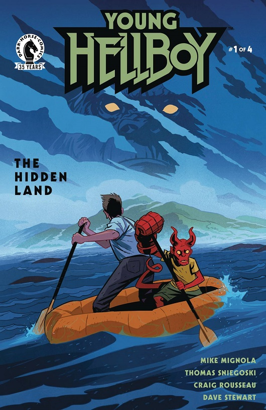 Cover of Young Hellboy The Hidden Land #1